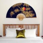 Chinese Wall Fans Bamboo Moon