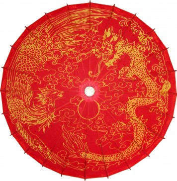 Blood Rooster and Dragon