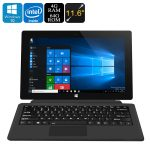 Jumper EZpad 5S Tablet PC – Licensed Windows 10, Intel Cherry Trail CPU, 4GB RAM, Detachable Keyboard, Wi-Fi, 11.6 Inch Screen