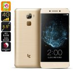 LeEco Le Pro 3 Android Smartphone – Snapdragon 821 CPU, 4GB RAM, Fingprint Sensor, 16MP Camera, 4G, Android 6.0, 4070mAh (Gold)