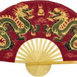 Chinese Wall Fans :: Maroon Dragons