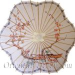Scalloped Chinese Parasol