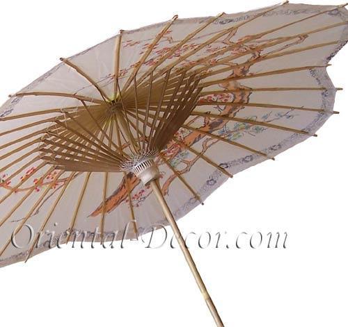 Scalloped Chinese Parasol