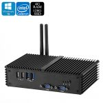 Windows 10 Mini PC – Unlicensed Win 10 Pro, Intel Celeron 3215U CPU, 4GB RAM, 128GB Memory, 1080P, Intel HD Graphics Card