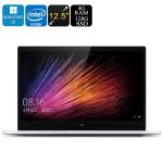 Xiaomi Air 12 Laptop – Windows 10 Home English, FHD 12.5 Inch Display, 1080P, Intel Core M3-6Y30 CPU, 4GB DDR3 RAM, Intel GPU