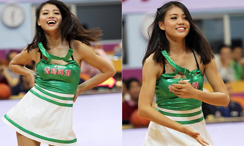 asian cheerleaders