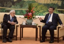 Xi Jinping and Henry Kissinger