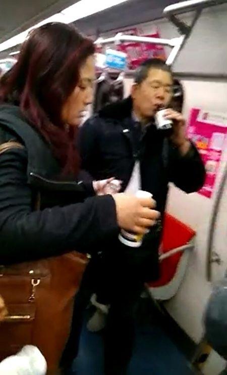 Beijing subway mass suicide