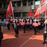 Taiwan high school students pulled a nazi parade