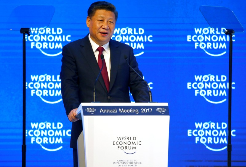 China world leader, As Trump stresses 'America First', China plays the world leader