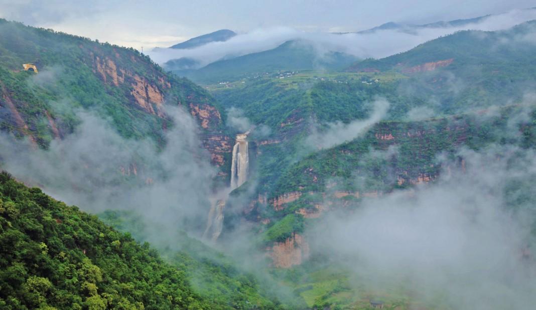 Santan waterfall