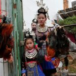 11 Amazing images of the Chicken wedding rooted in ancient rites