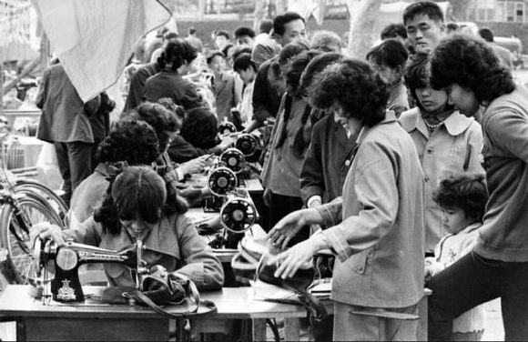 Chinese seamstresses
