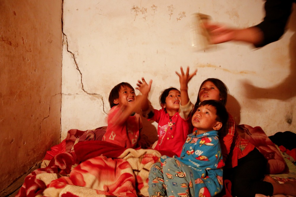 Myanmar Refugee children