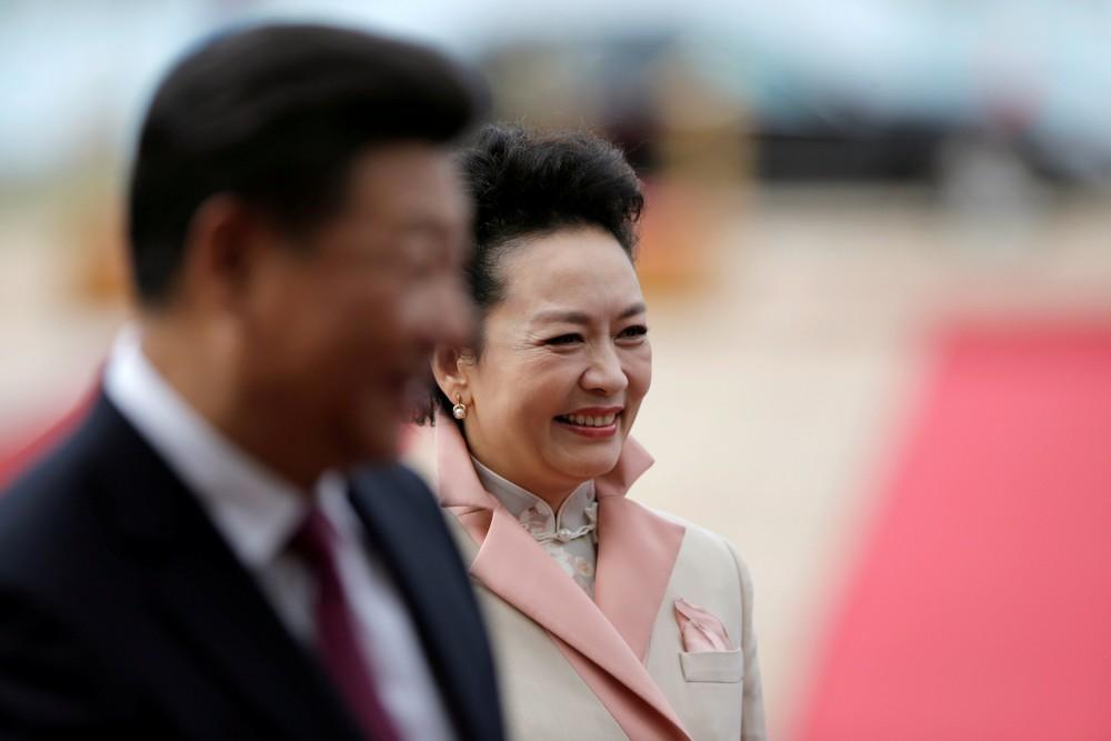 Chinese first lady Peng Liyuan