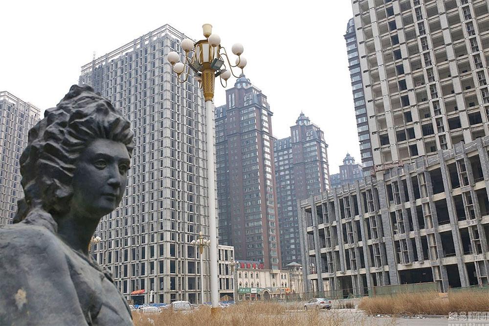 Xiangyun Ghost Town in Shijiazhuang