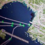 A Thomson Reuters Eikon ship-tracking screen shows cargo ships returning to Nampo port_North Korean ships