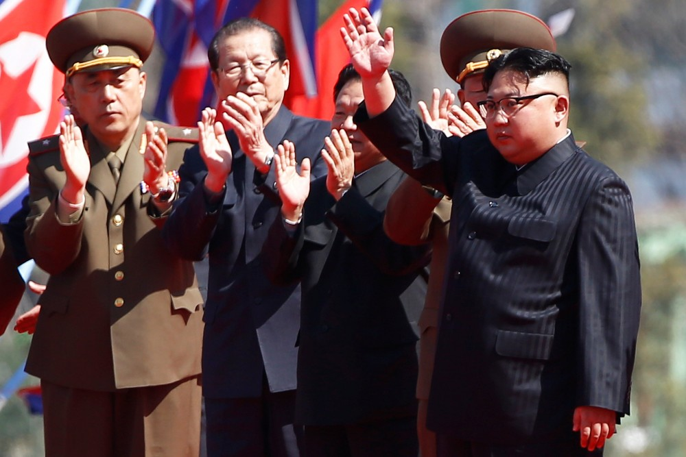 tension over North Korea, China says North Korea tension has to be stopped from reaching 'irreversible' stage