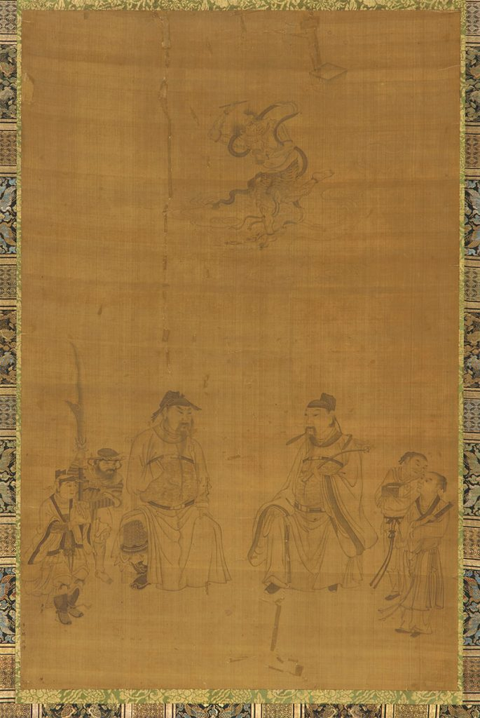 Guan Yu, Wenchang, and Kuixing