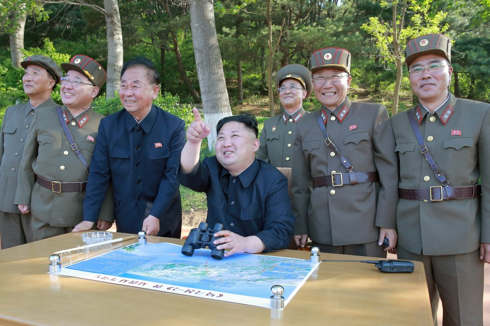 Kim's rocket stars: The trio behind North Korea's missile programme