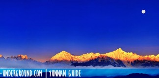 Meili snow mountain, Yunnan