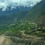 Meili Valley along Lancang River in Yunnan