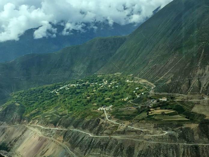 Meili Valley along Lancang River