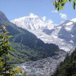 Mingyong Glacier in Deqen county, Yunnan