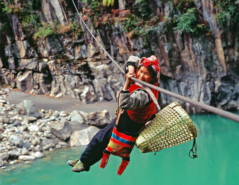 Nujiang Guide - nujiang rope bridge