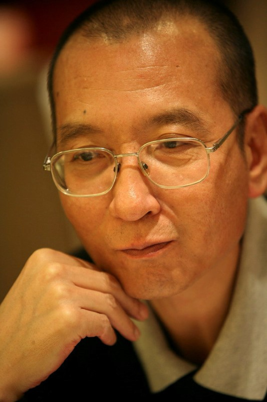 Undated handout shows Chinese dissident Liu Xiaobo