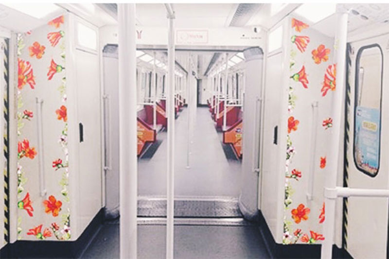Guangzhou Female-only subway cars