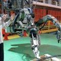 Nuclear emergency robots
