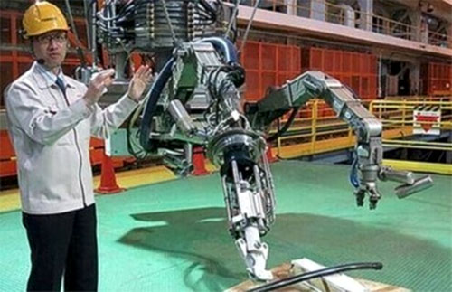 Nuclear emergency robots