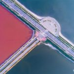 Fascinating aerial views of the Yuncheng salt lakes