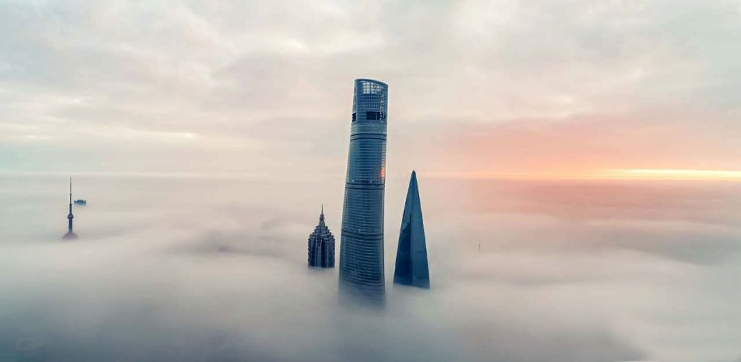 aerial-views-of-China-Shanghai