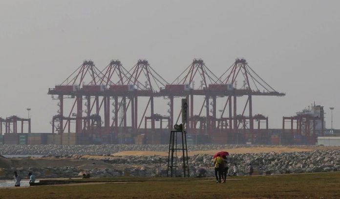 Sri Lanka's port