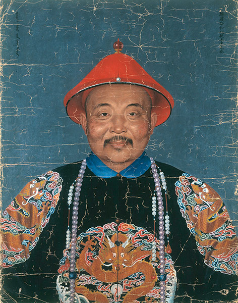 Portrait of the Mongolian prince Dawaci