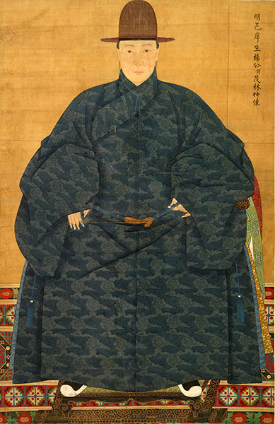 Portrait of Yang Maolin