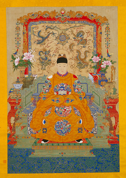 Portrait of the Tianqi Emperor