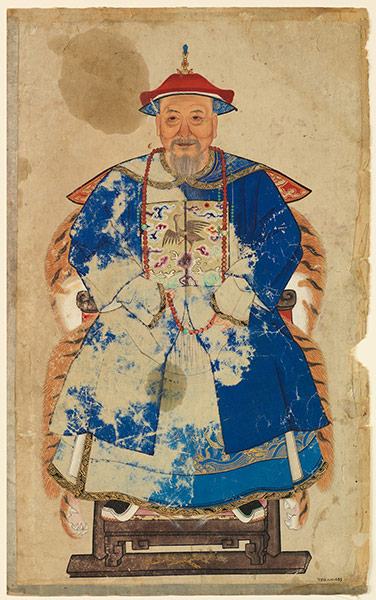 Ancestor Portrait of Ding family
