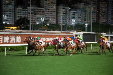 There is a huge demand for horse racing in Hong Kong