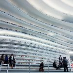 The spectacular Tianjin Binhai Library in China