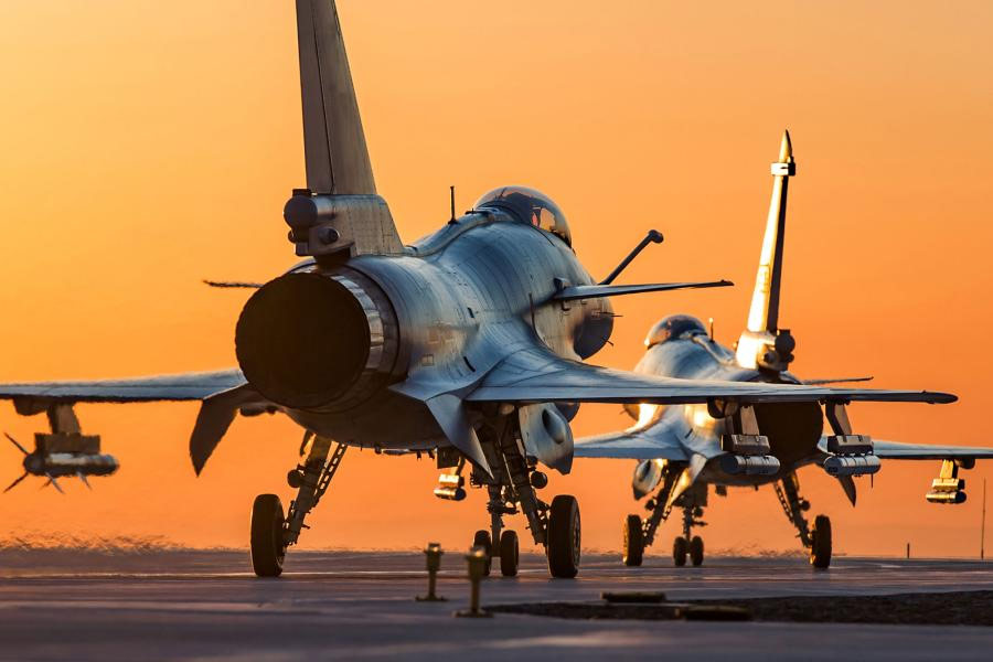 Chinese-J-10-fighter-jet