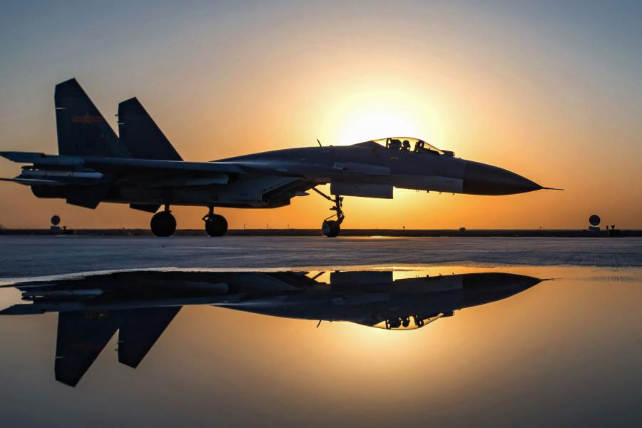 Chinese-J-11-fighter-jet