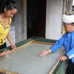 Paper-making in Mangtuan, Mengding