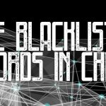 The blacklisted words in China