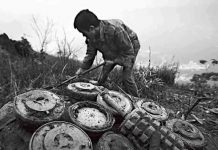 china landmine village