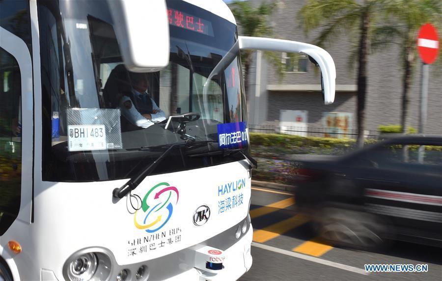 Self-driving-buses