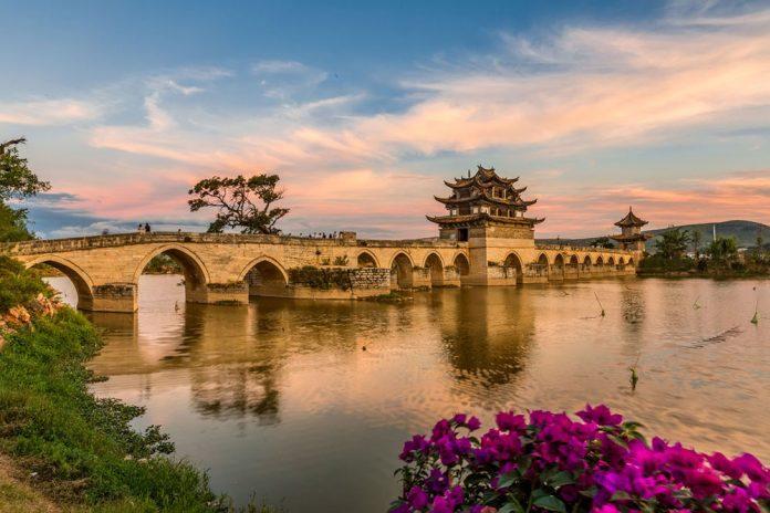 Twin-Dragon-Bridge-of-Jianshui-County