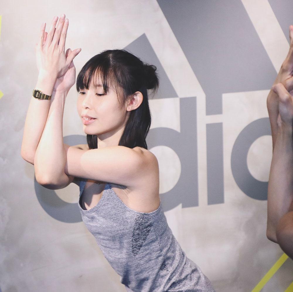 Matina Cheung: Teaching Yoga in Hong Kong